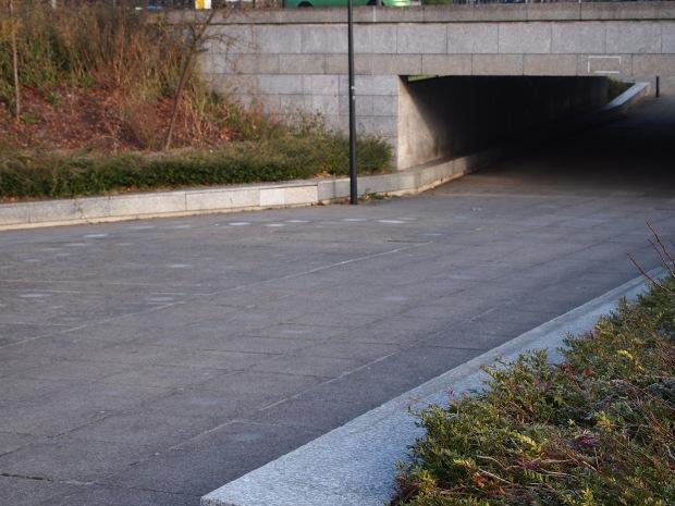 Pedestrian underpass Milton Keynes
